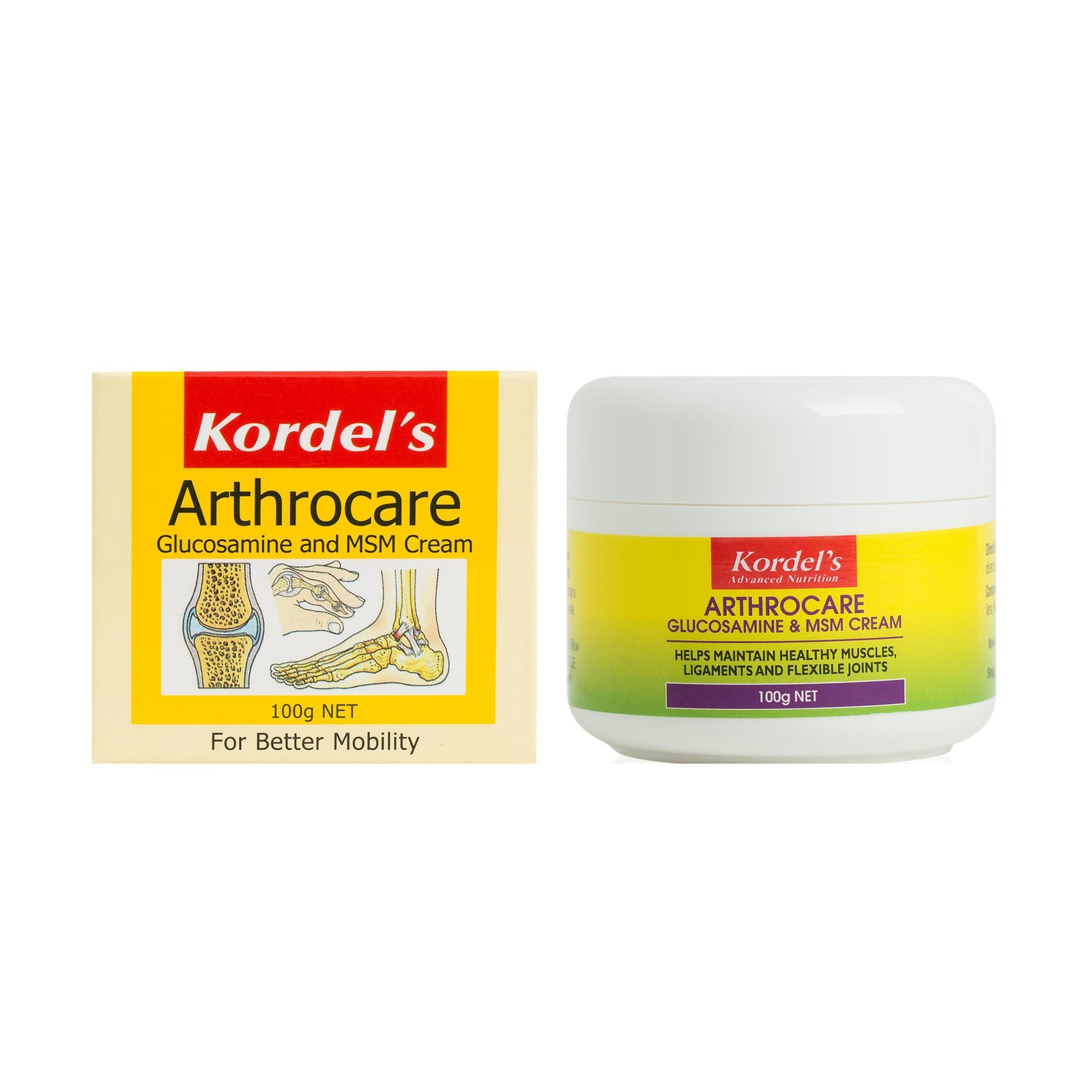 KORDEL'S ARTHROCARE CREAM 100 grams