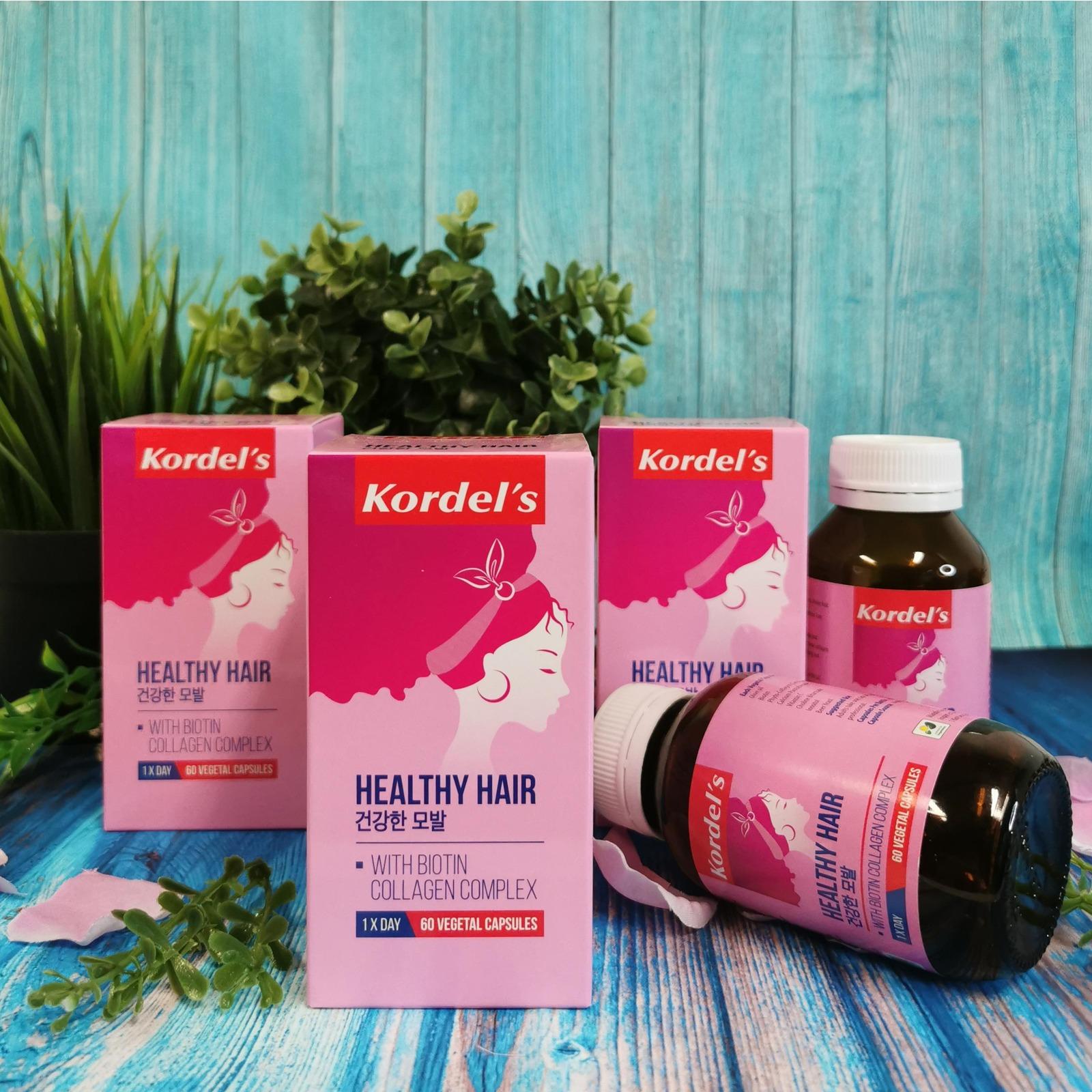 KORDEL'S HEALTHY HAIR 60S