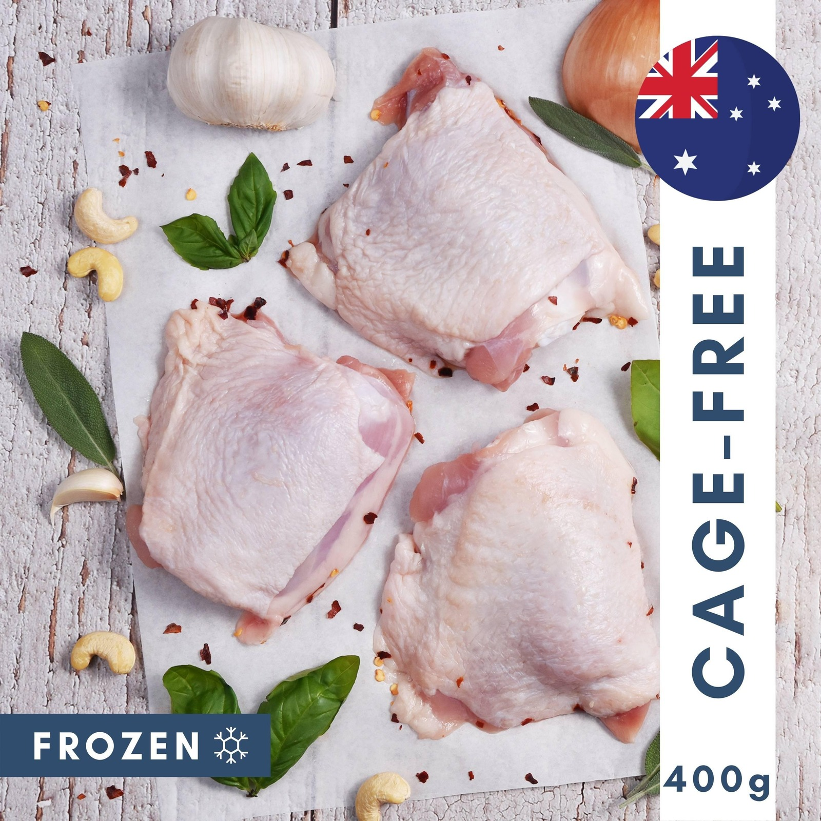 The Meat Club Cage Free Chicken Whole Thighs (Bone-In)