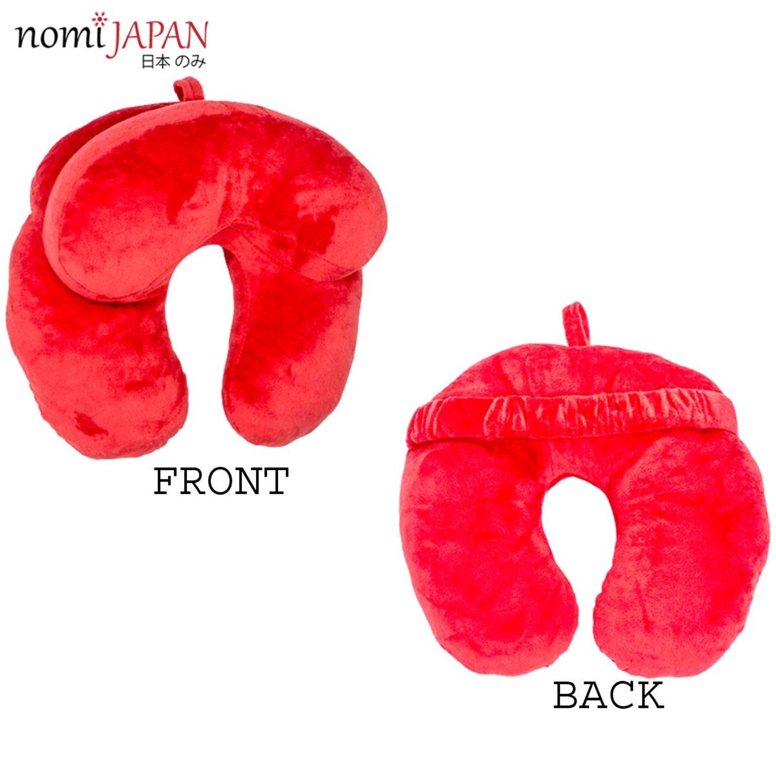 Nomi Japan Car / Neck / Utype / Travel /Cushion Pillow Maroon
