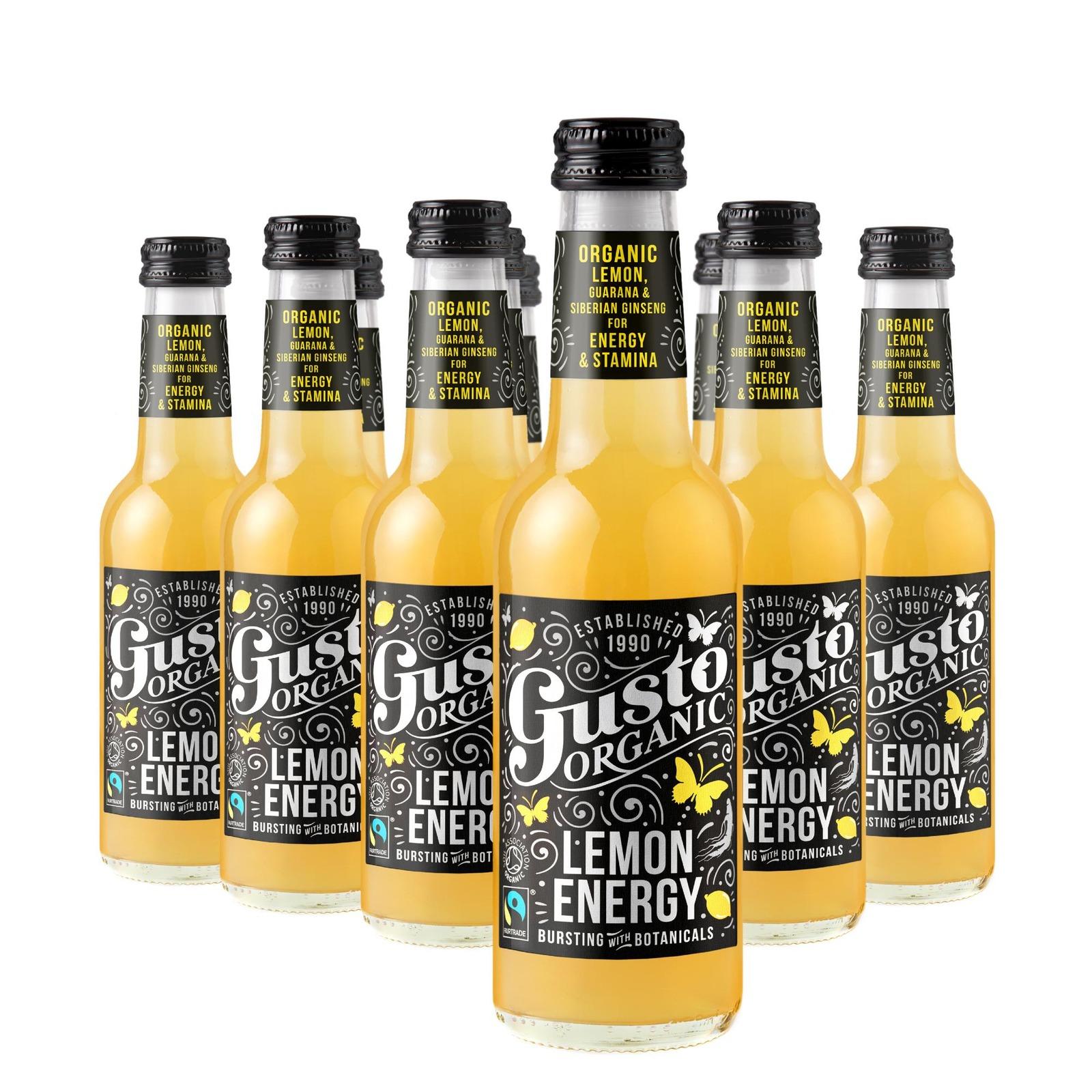 Gusto Organic Lemon Energy