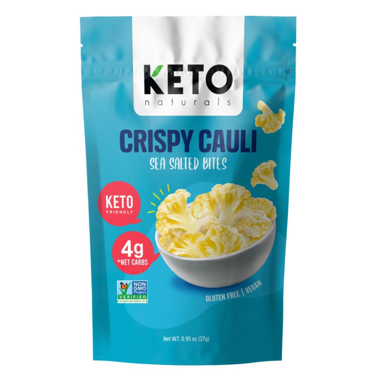 Keto Naturals Crispy Cauliflower - Sea Salted Bites