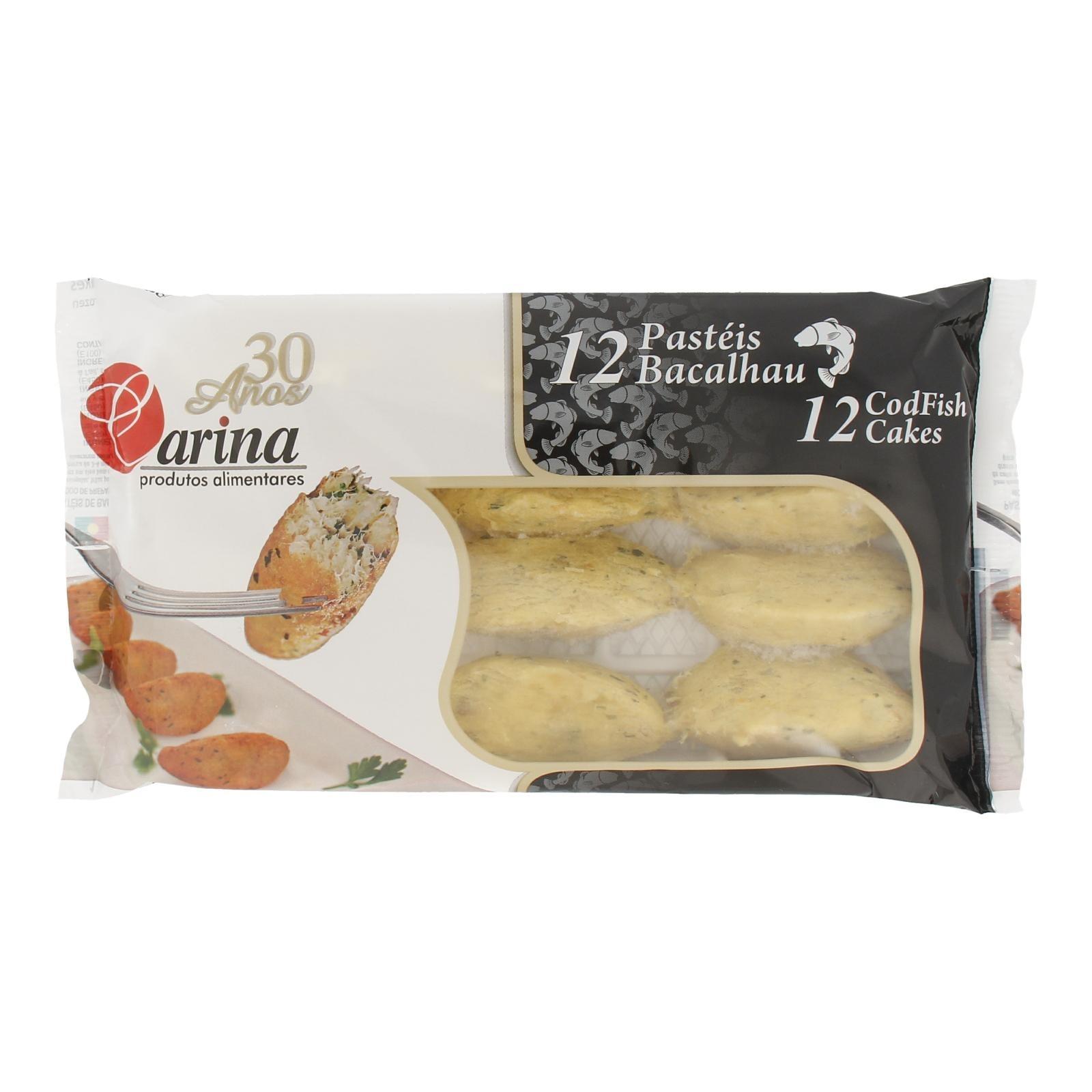 Carina Pasteis De Bacalhau Cod Fish Cakes 12s