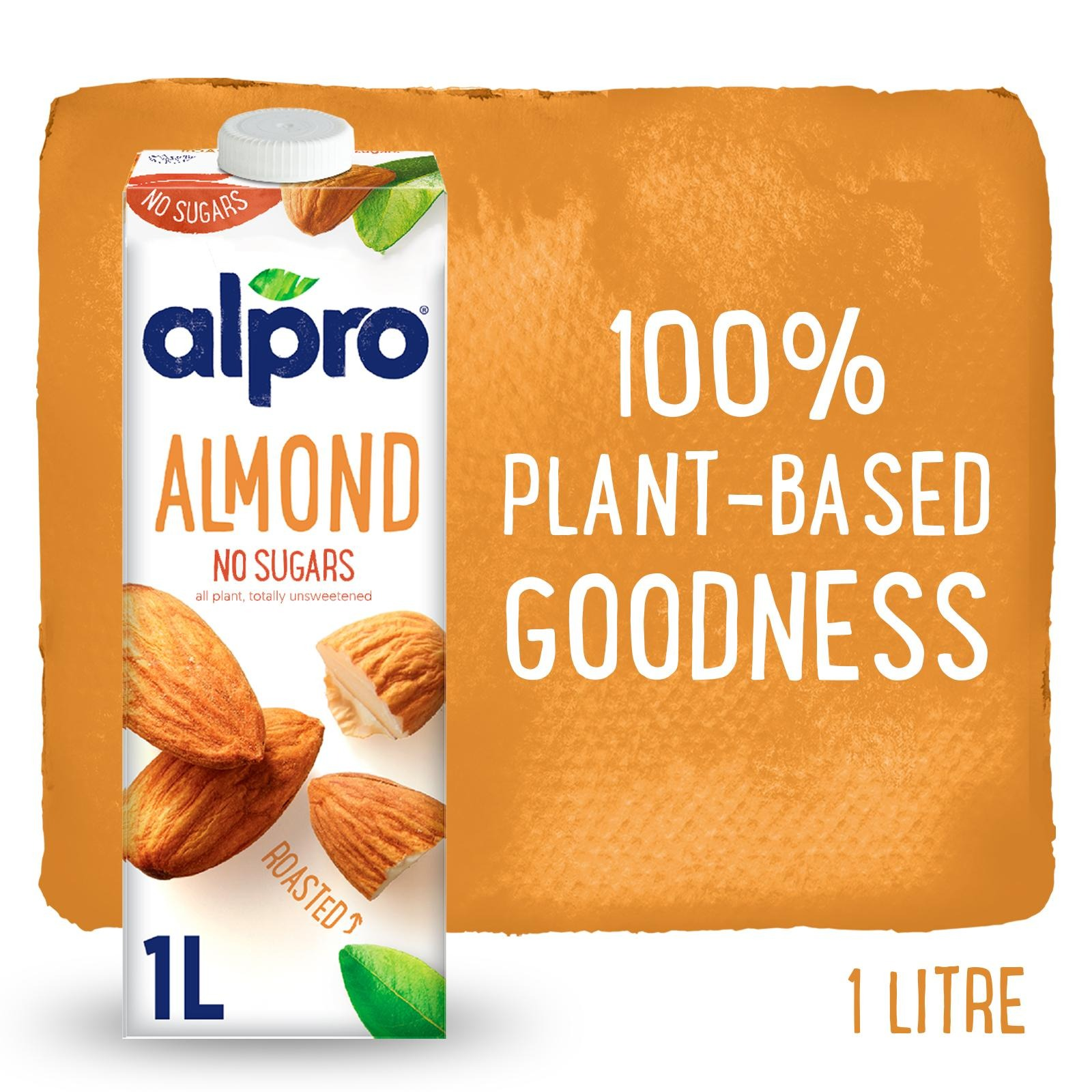 Alpro Almond Roasted - Unsweetened - By Sonnamera