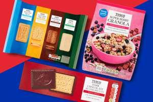 Tesco Biscuits & Cereals