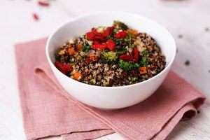 30-Minutes Quinoa Bowl