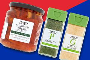 Tesco Spices & Condiments