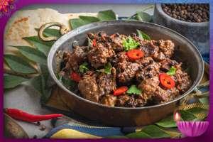 Black Pepper Mutton