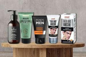 Men facial care