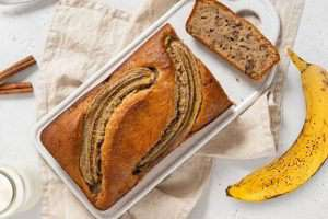 Organic Banana Oatmeal Cereal Loaf