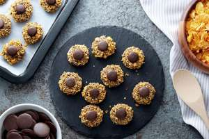 Chocolate Button Cookies