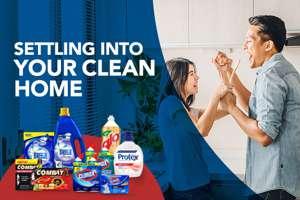 Regular cleaning supplies